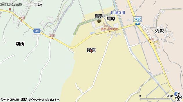 〒682-0904 鳥取県倉吉市尾原の地図