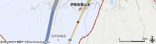 一般国道153号周辺の地図