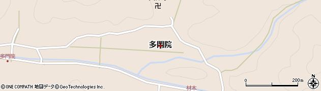 京都府舞鶴市多門院周辺の地図