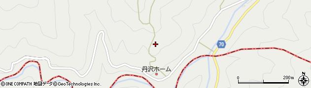 神奈川県清川村(愛甲郡)丹沢山札掛周辺の地図