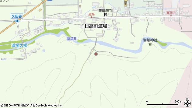 〒669-5343 兵庫県豊岡市日高町道場の地図
