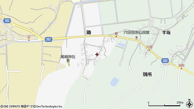 〒682-0952 鳥取県倉吉市鋤の地図