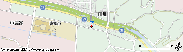 鳥取県湯梨浜町(東伯郡)田畑周辺の地図