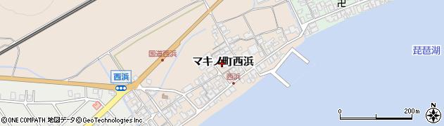 万明寺周辺の地図