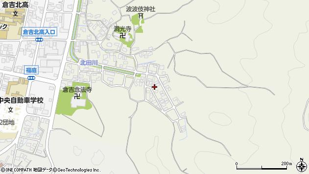 〒682-0013 鳥取県倉吉市福庭の地図