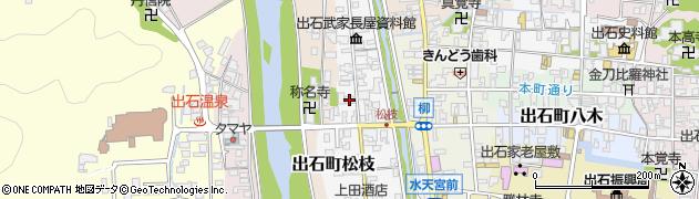 松枝区公民館周辺の地図