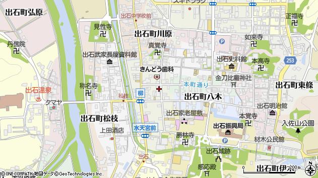 〒668-0233 兵庫県豊岡市出石町田結庄の地図