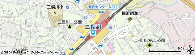 神奈川県横浜市旭区周辺の地図
