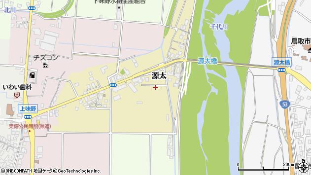 〒680-1133 鳥取県鳥取市源太の地図