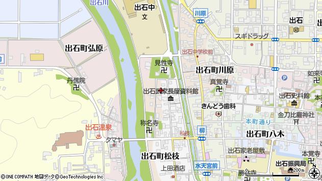 〒668-0237 兵庫県豊岡市出石町馬場の地図