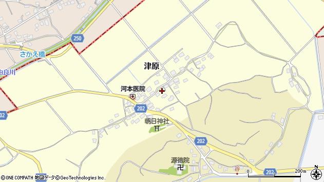 〒682-0951 鳥取県倉吉市津原の地図