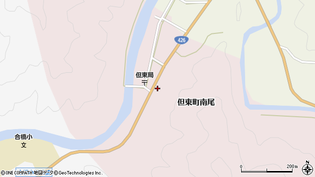 〒668-0312 兵庫県豊岡市但東町南尾の地図