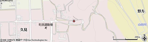 鳥取県湯梨浜町(東伯郡)久見周辺の地図
