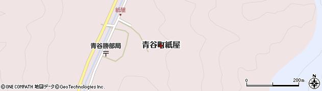 鳥取県鳥取市青谷町紙屋周辺の地図