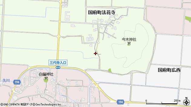 〒680-0153 鳥取県鳥取市国府町法花寺の地図