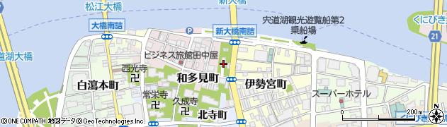 売布神社周辺の地図