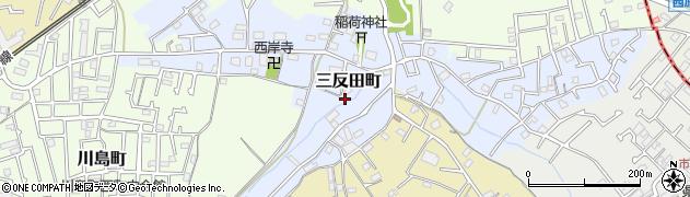 神奈川県横浜市旭区三反田町周辺の地図