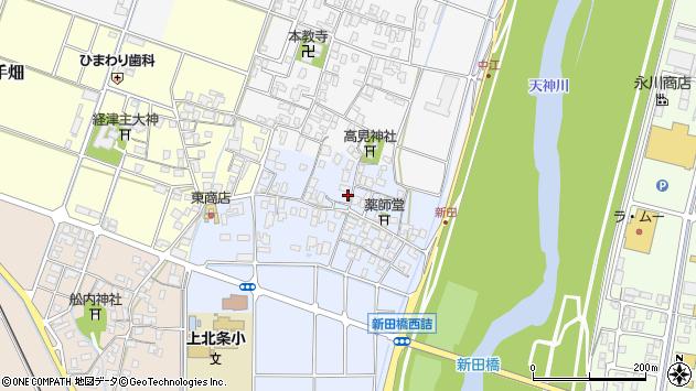 〒682-0003 鳥取県倉吉市新田の地図