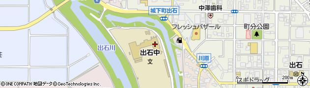 谷山川周辺の地図