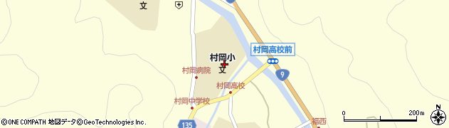 香美町立幼稚園村岡幼稚園周辺の地図