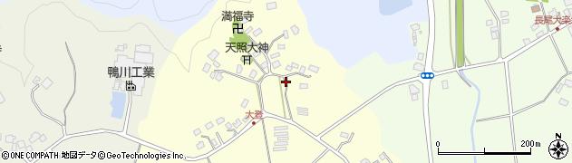 千葉県茂原市大登周辺の地図