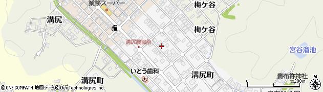 京都府舞鶴市溝尻町周辺の地図