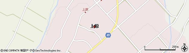 鳥取県鳥取市上原周辺の地図
