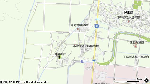 〒680-1165 鳥取県鳥取市下味野の地図