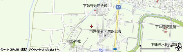 鳥取県鳥取市下味野周辺の地図