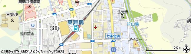 京都府舞鶴市南浜町周辺の地図
