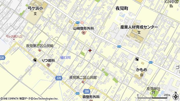 〒683-0851 鳥取県米子市夜見町の地図