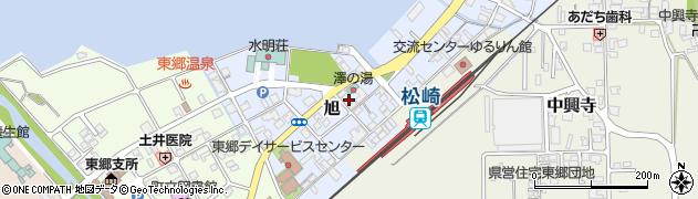 鳥取県湯梨浜町(東伯郡)旭周辺の地図