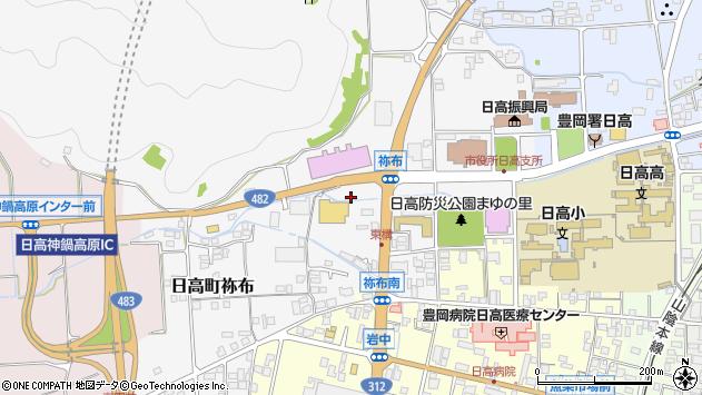 〒669-5303 兵庫県豊岡市日高町東構の地図