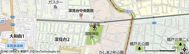 仏導寺周辺の地図