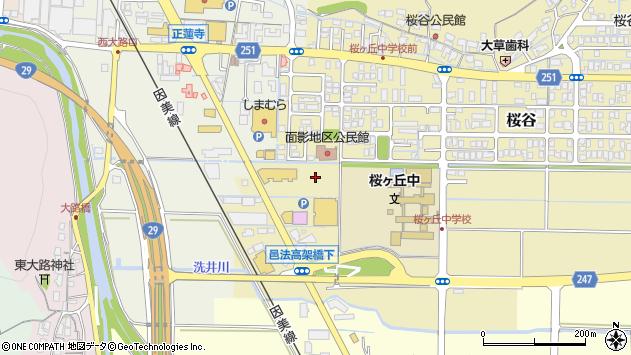 〒680-0853 鳥取県鳥取市桜谷の地図