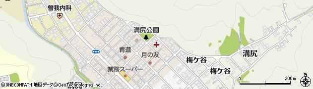 京都府舞鶴市溝尻中町周辺の地図