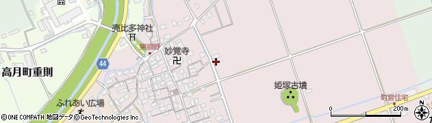 滋賀県長浜市高月町東柳野周辺の地図