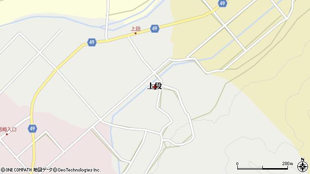 〒680-1421 鳥取県鳥取市上段の地図