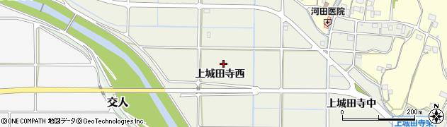 岐阜県岐阜市上城田寺(西)周辺の地図
