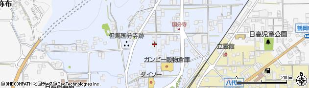 兵庫県豊岡市日高町国分寺周辺の地図