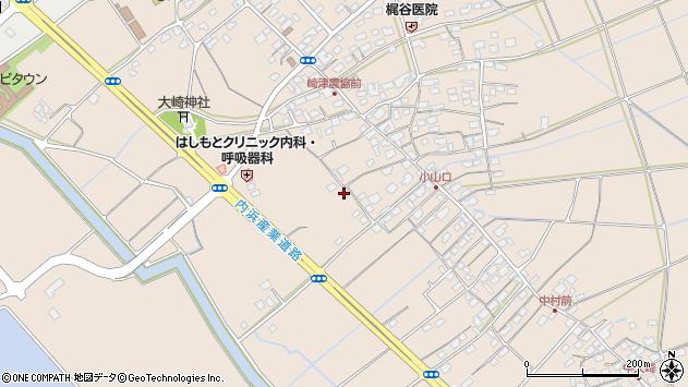 〒683-0104 鳥取県米子市大崎の地図