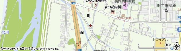 鳥取県鳥取市叶周辺の地図