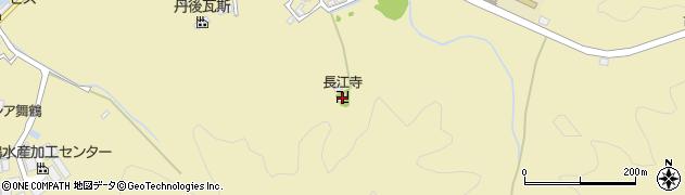 長江寺周辺の地図