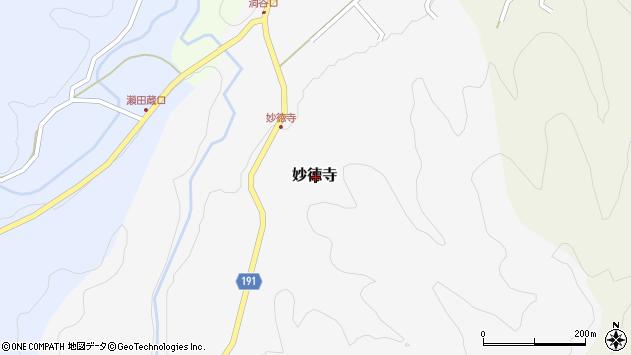 〒680-1431 鳥取県鳥取市妙徳寺の地図