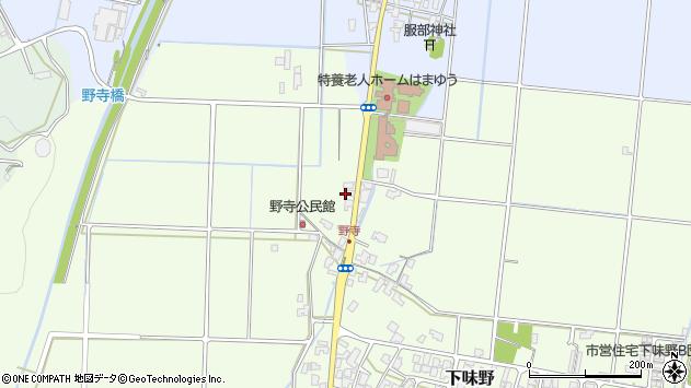〒680-0924 鳥取県鳥取市野寺の地図