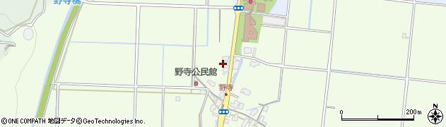 鳥取県鳥取市野寺周辺の地図