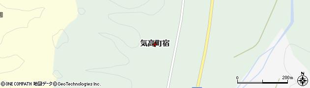 鳥取県鳥取市気高町宿周辺の地図