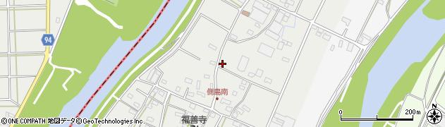 岐阜県関市側島周辺の地図