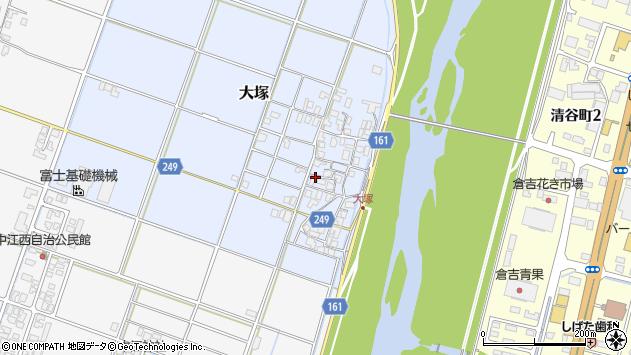〒682-0011 鳥取県倉吉市大塚の地図