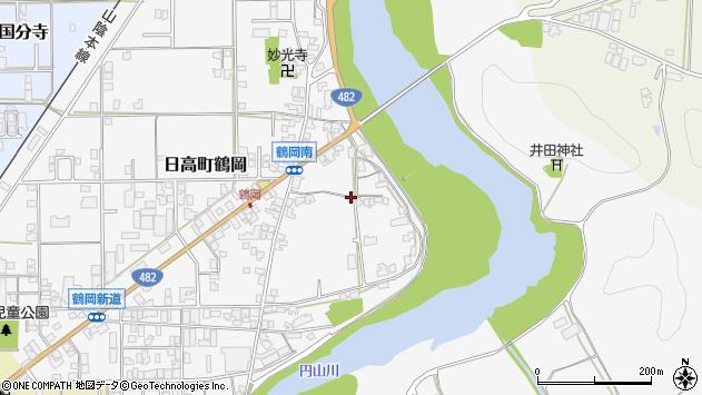 〒669-5313 兵庫県豊岡市日高町鶴岡の地図